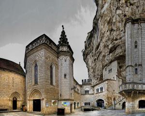 Rocamadour - Sanktuarium Czarnej Madonny