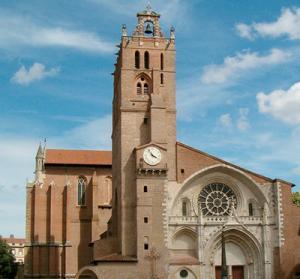 Tuluza - Katedra �w. Szczepana w Tuluzie