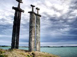 Stavanger - Pomnik Trzech Mieczy