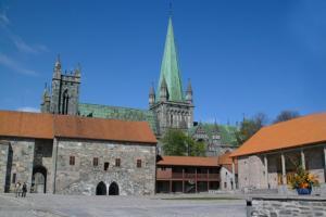 Trondheim - Pałac Arcybiskupi