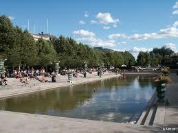 Sztokholm - Ogrody kr�lewskie