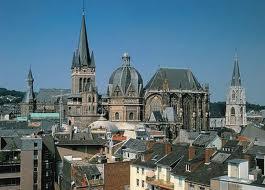 Akwizgran - Katedra w Aachen