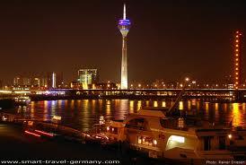 Dusseldorf - Wieża Nadreńska