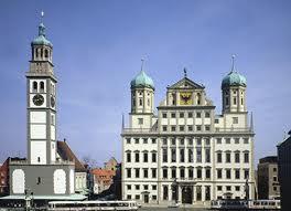 Augsburg - Ratusz w Augsburgu