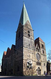 Bremen - Kościół Najświętszej Marii Panny w Bremen