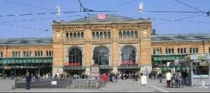Hanower - Dworzec kolejowy w Hanowerze