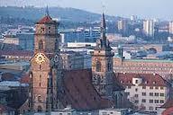 Stuttgart - Kolegiata Stiftskirche