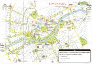 Timisoara - Timisoara mapa zabytków