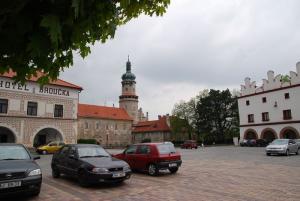 Czechy - Parkowanie w Czechach