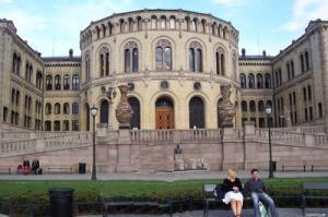 Norwegia - System polityczny w Norwegii.