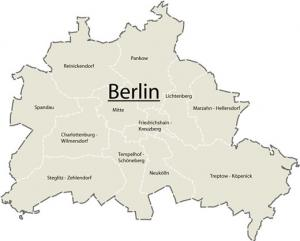 Berlin - Dzielnice Berlina