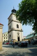 Sandomierz Dzwonnica przy bazylice