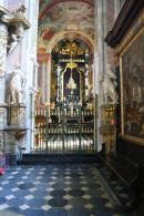 Sandomierz Wnętrze bazyliki