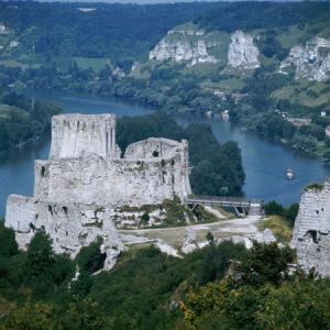 Francja - Zamek Gaillard