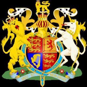 Wielka Brytania - Herb i flaga Wielkiej Brytanii