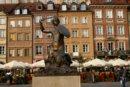 Warszawa Syrenka na starówce