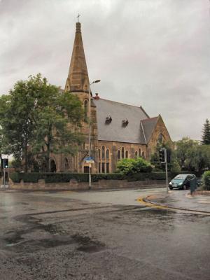 Manchester - Polski kościół pod wezwaniem Miłosierdzia Bożego
