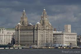 Liverpool - Royal Liver Building w Liverpoolu