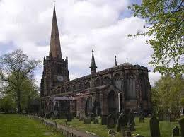 Birmingham - Kościół św. Pawła na Placu św. Pawła w Birmingham