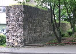 Akwizgran - Pozostałości murów obronnych w Akwizgran