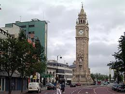 Belfast - Albert Memorial Clock
