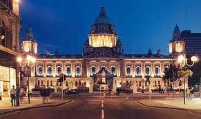 Belfast - Ratusz w Belfascie