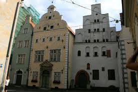 Ryga - Kamieniczki mieszczańskie