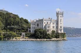 Triest - Zamek Miramare w Trie�cie