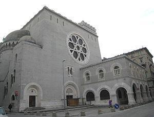 Triest - Synagoga w Trieście