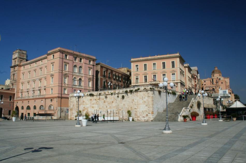 Bastion Saint Remy w Cagliari