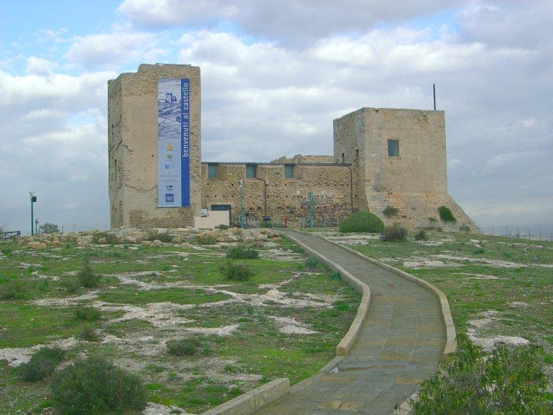 Zamek San Michel w Cagliari