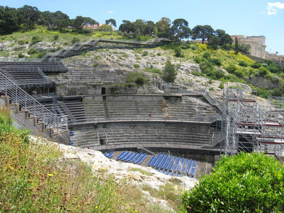 Rzymski Amfiteatr w Cagliari