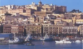 Cagliari - Dzielnice Marina i Villanowa w Cagliari