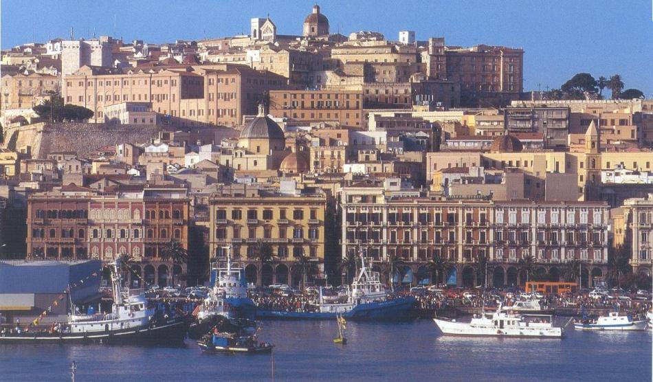 Dzielnice Marina i Villanowa w Cagliari