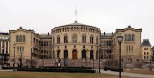 Oslo - Budynek Parlamentu