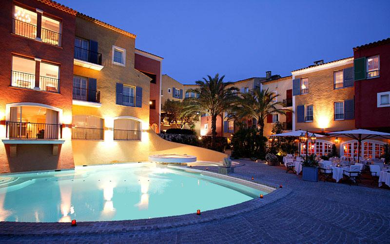 Hotel Byblos w Saint Tropez