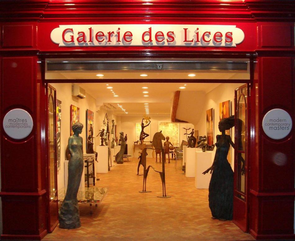 Galerie w Saint Tropez