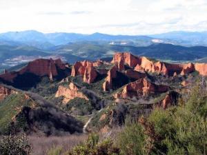 Hiszpania - Kopalnie złota w Las Medulas