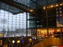 Berlin Dworzec główny w berlinie