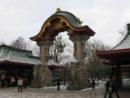 Berlin Główne wejście do berlińskiego Zoo