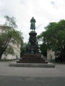 Wiedeń Wiedeń plac przed Akademią Sztuk Pięknych