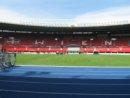 Wiedeń Ernst-Happel-Stadion narodowy stadion Austrii nazwany imieniem słynnego austriackiego piłkarza i trenera Ernsta Happela.