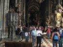 Wiedeń Wnętrze Katedry św. Szczepana w Wiedniu
