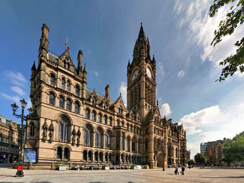 Ratusz w Manchester