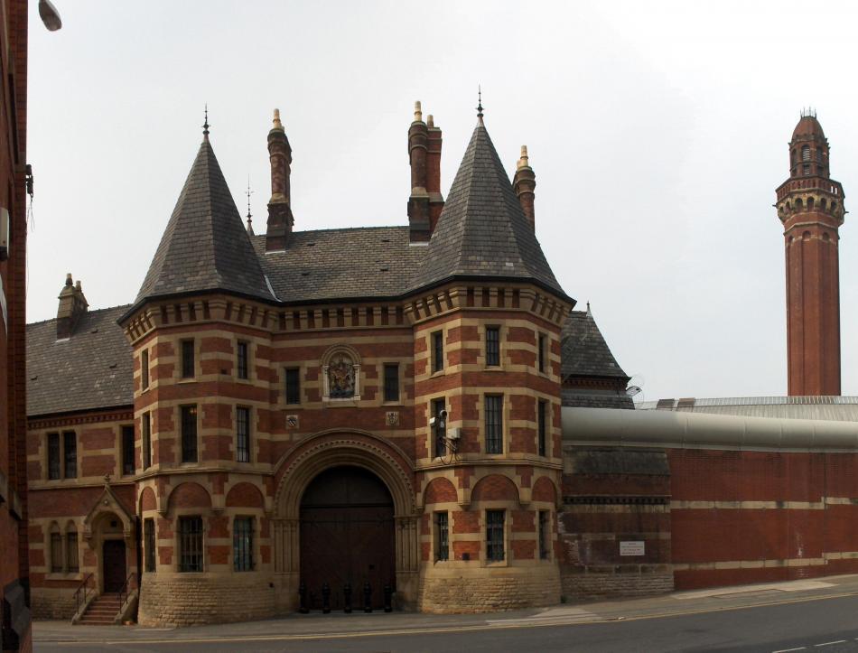 Więzienie i wieża strażnicza w Manchester