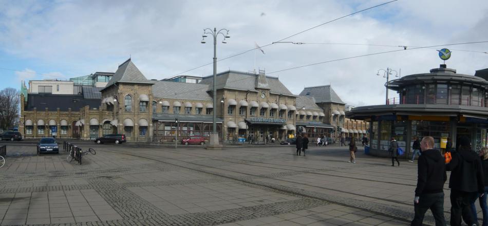Dworzec Centralny w Goteborgu