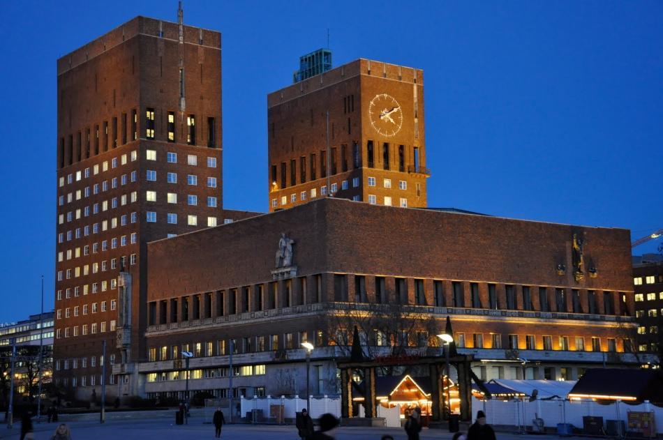 Ratusz w Oslo