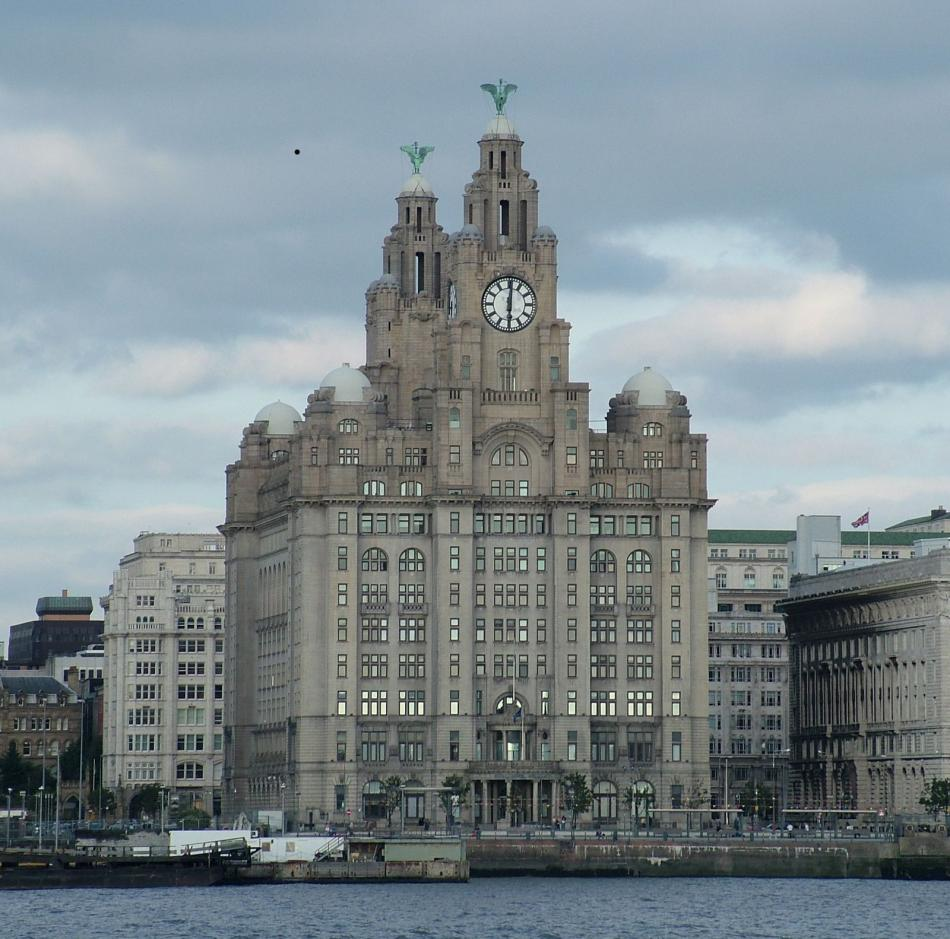 Royal Liver Building w Liverpoolu
