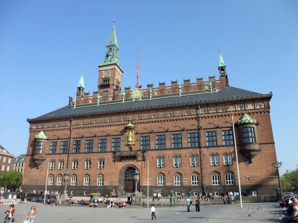 Kopenhaga - Radhuset