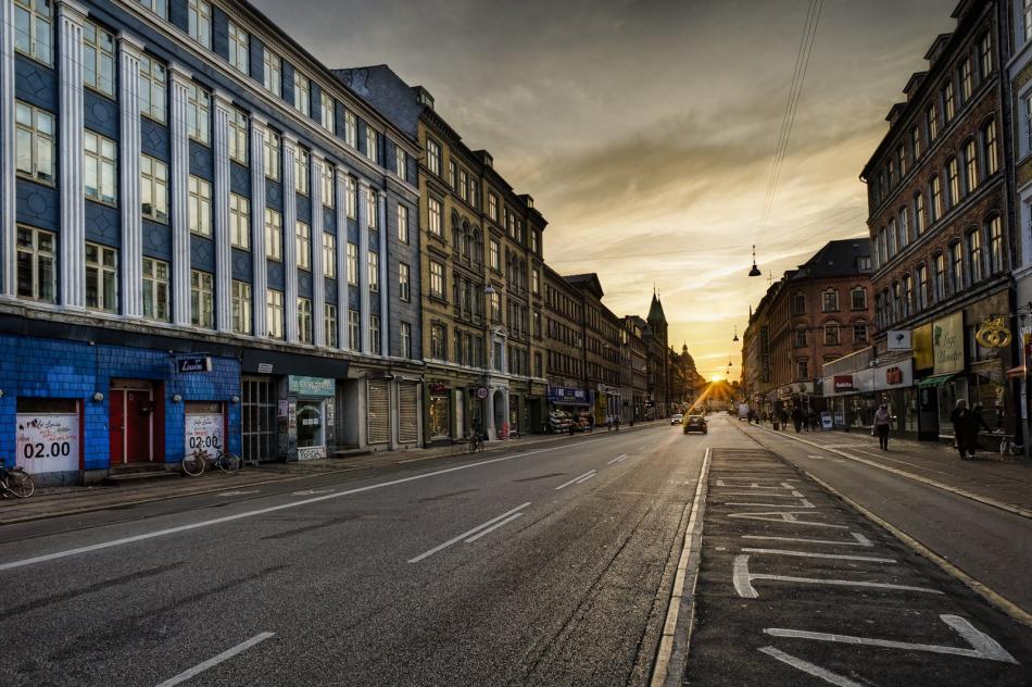 Kopenhaga - Dzielnica Norrebro